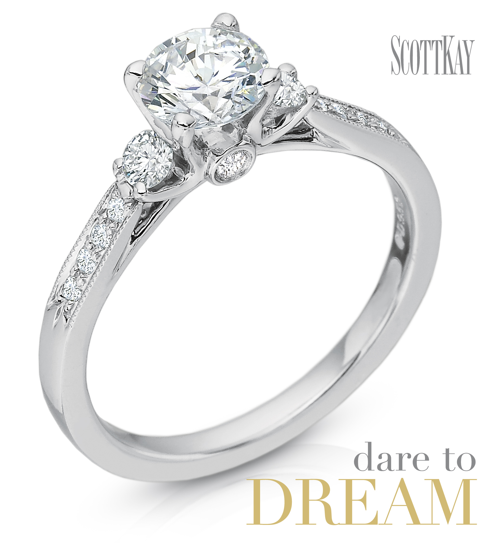 Family Co Jewelers Scott Kay B1602r310: Lost For Words Over Scott Kay Engagement Ring