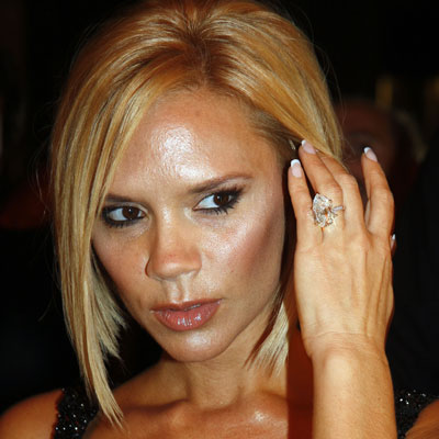 Beyonce Diamond Engagement Ring Victoria Posh Spice Beckham P