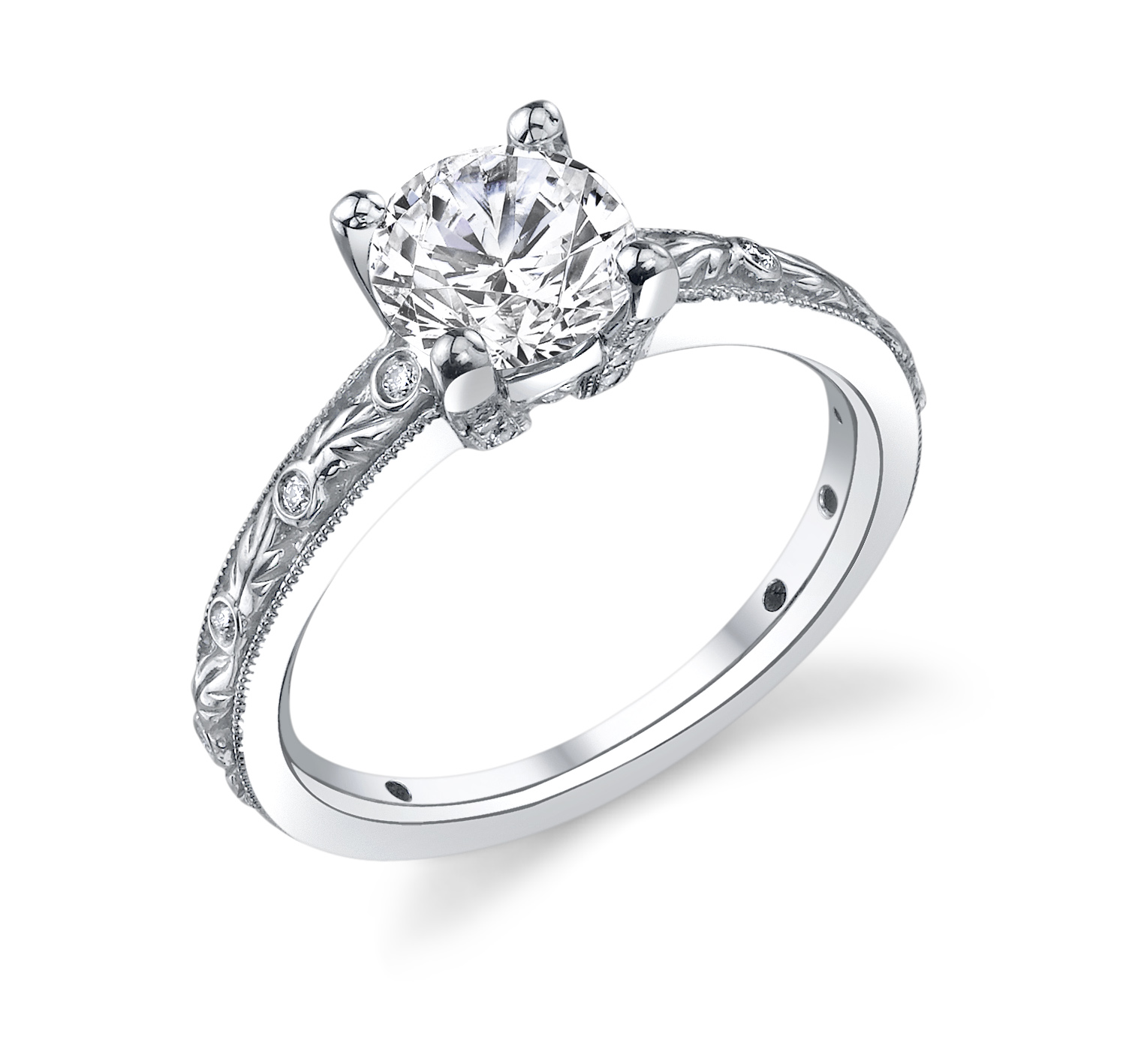 engagement ring of the day ritani robbins brothers