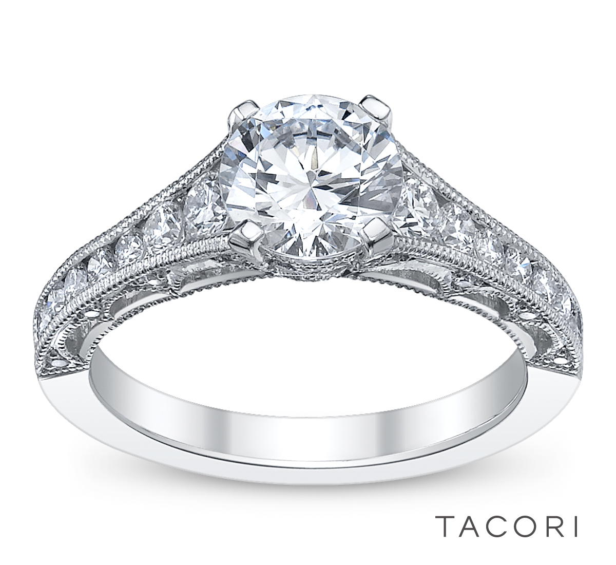 engagement ring of the day tacori robbins brothers