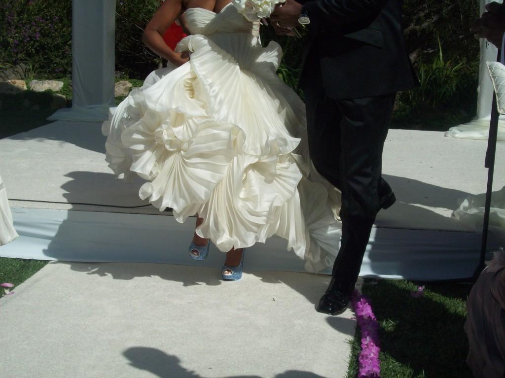 Niecy Nash Wedding Shoes