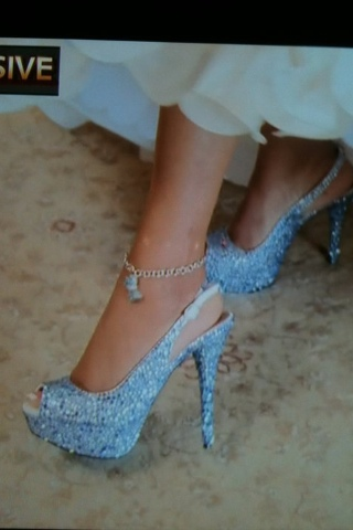Summer Brides Wear Hot Heels For Something Blue | Fully ...