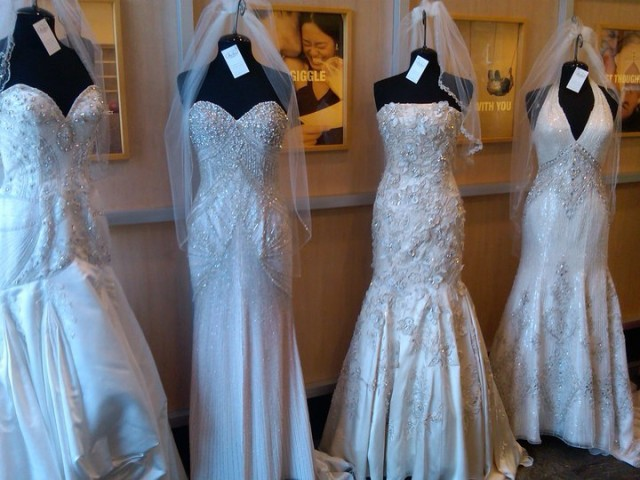 Vote for your favorite bridal gown fully engaged for Mon amie wedding dresses