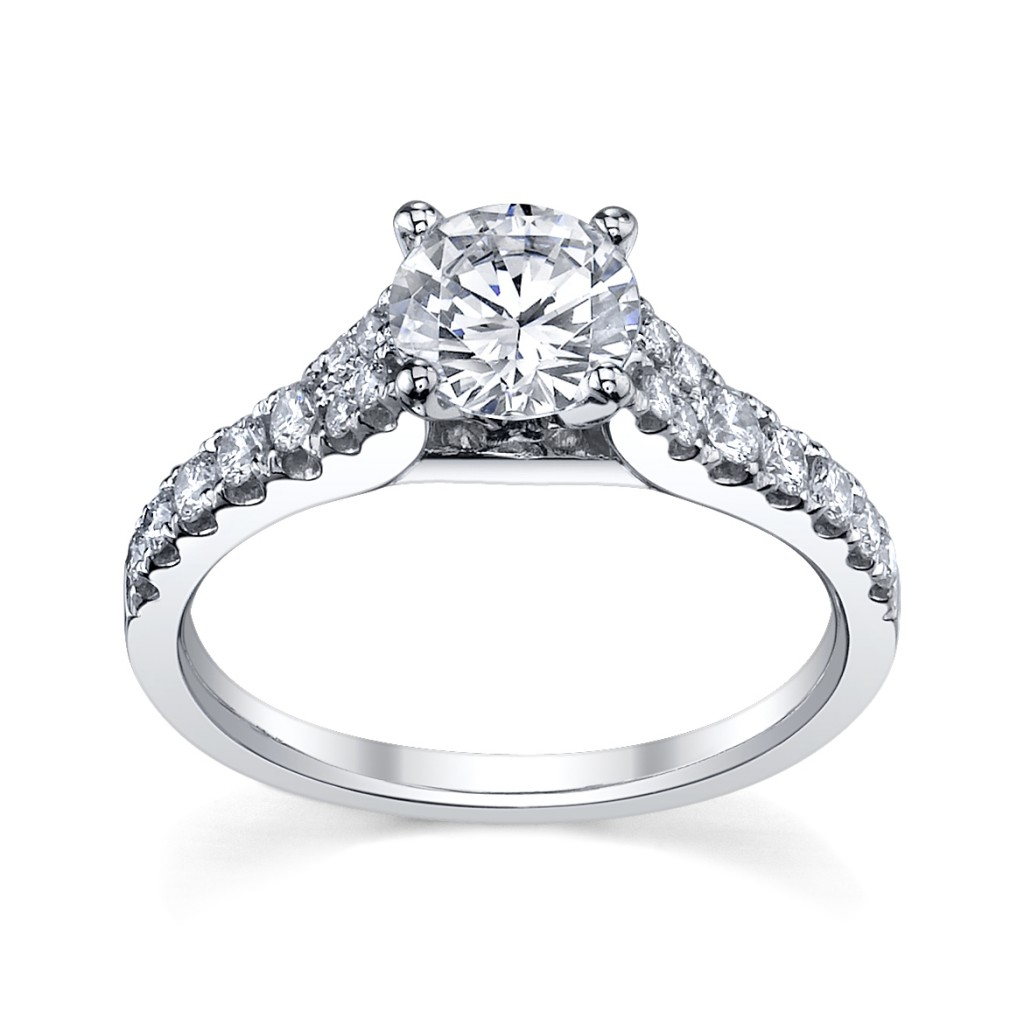 Shine With Scott Kay Engagement Ring | Robbins Brothers   Be Fully Engaged