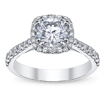 Coast Diamond Halo Engagement Rings