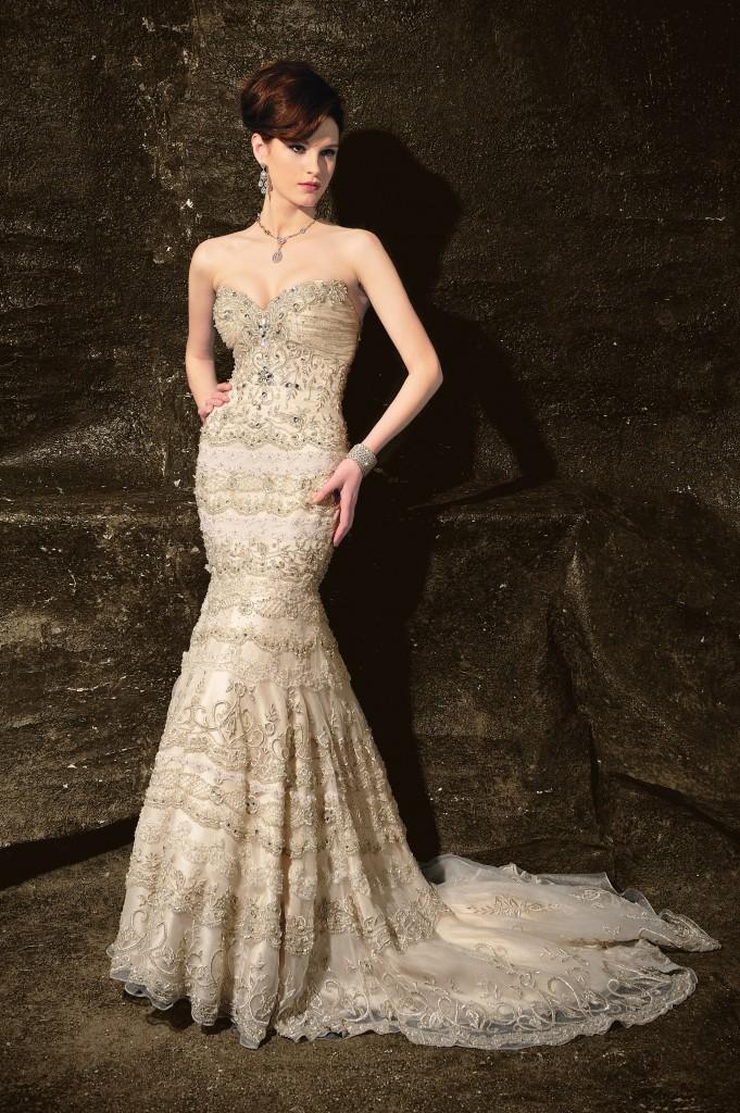 Glamorous Bridal Gowns this Wedding Season   Robbins Brothers ...
