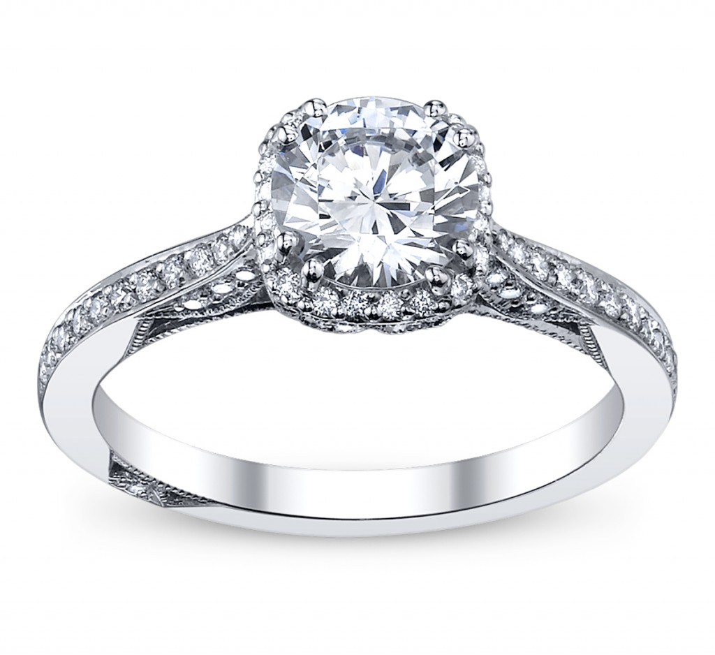 Engagement Rings Tacori: Cupid's Engagement Ring Pick For Valentine's: Tacori Halo