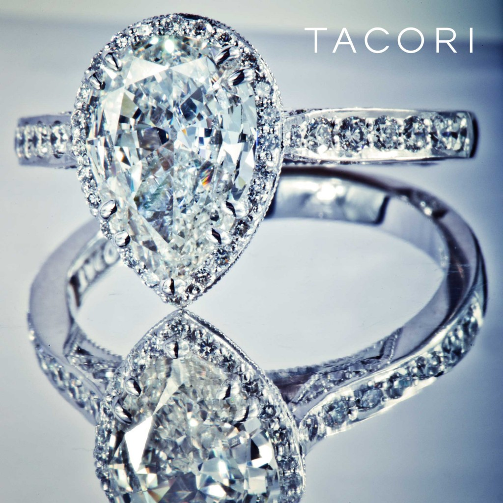 Tacori Pear-Shape Design from Dantela Collection