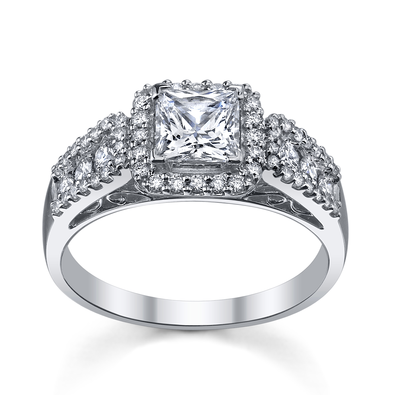 6 Princess Cut Engagement Rings She'll Love