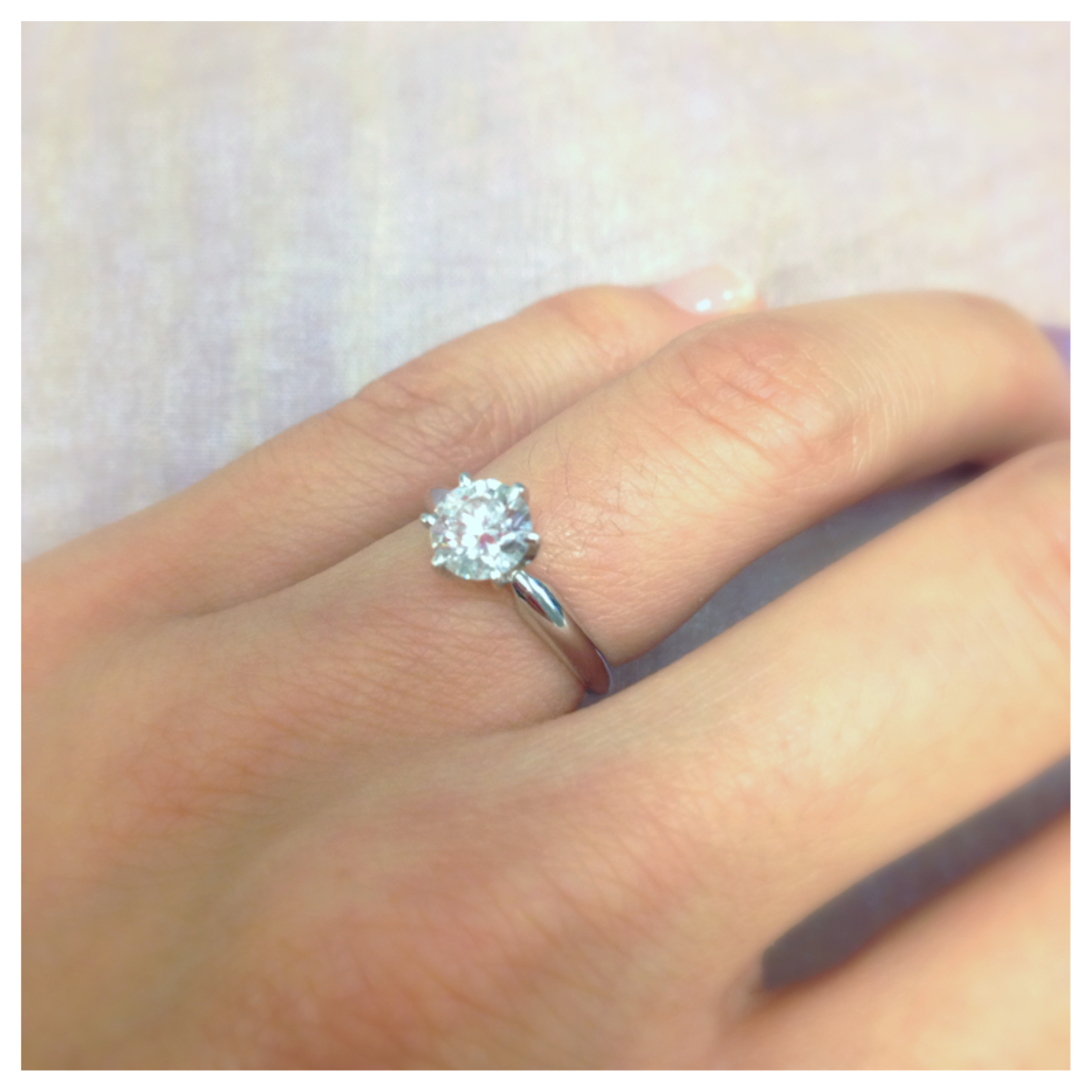 After All, No One Could Have Guessed That My Sparkling Diamond Was Labgrown  Whenever I Told Someone That It Was A Labcreated Diamond,