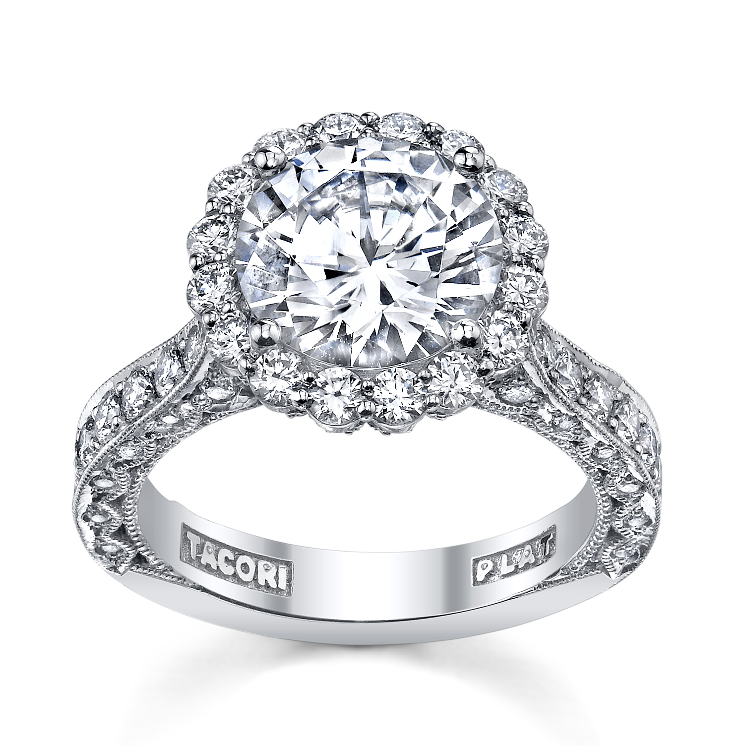 tacori wedding rings settings tacori wedding band Tacori wedding rings settings