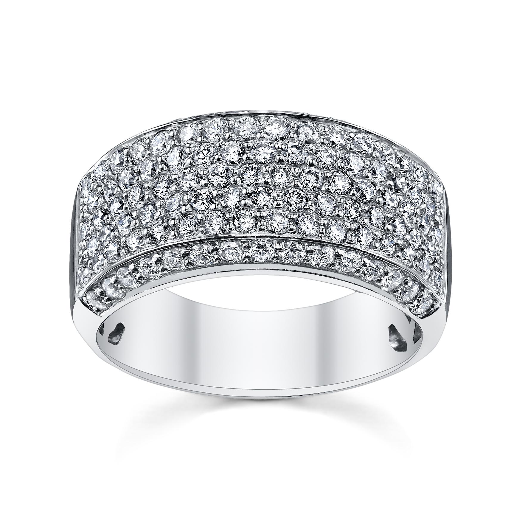 Micro Pave Diamond Anniversary Ring (sku 0388638)