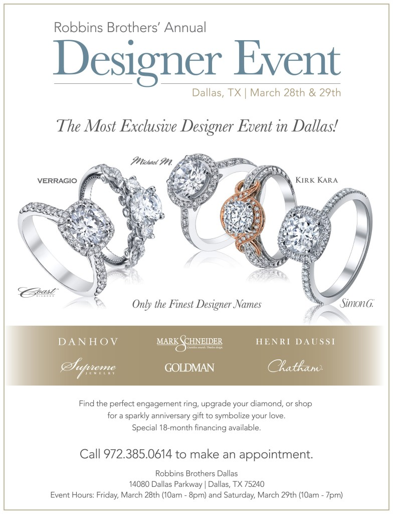 Dallas Designer Show Mar28&29