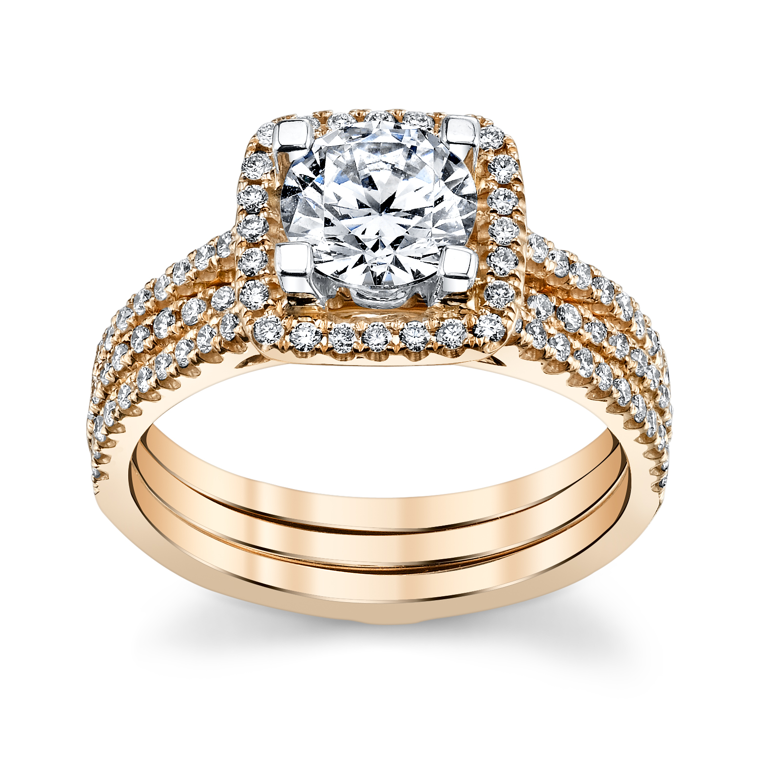 Robbins Brothers Engagement Rings: 5 Rose Gold Engagement Rings She'll Love