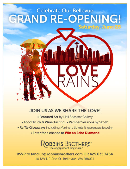Bellevue Grand ReOpening Flyer