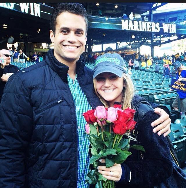 Memorable Proposal At Seattle Mariners Baseball Game Robbins