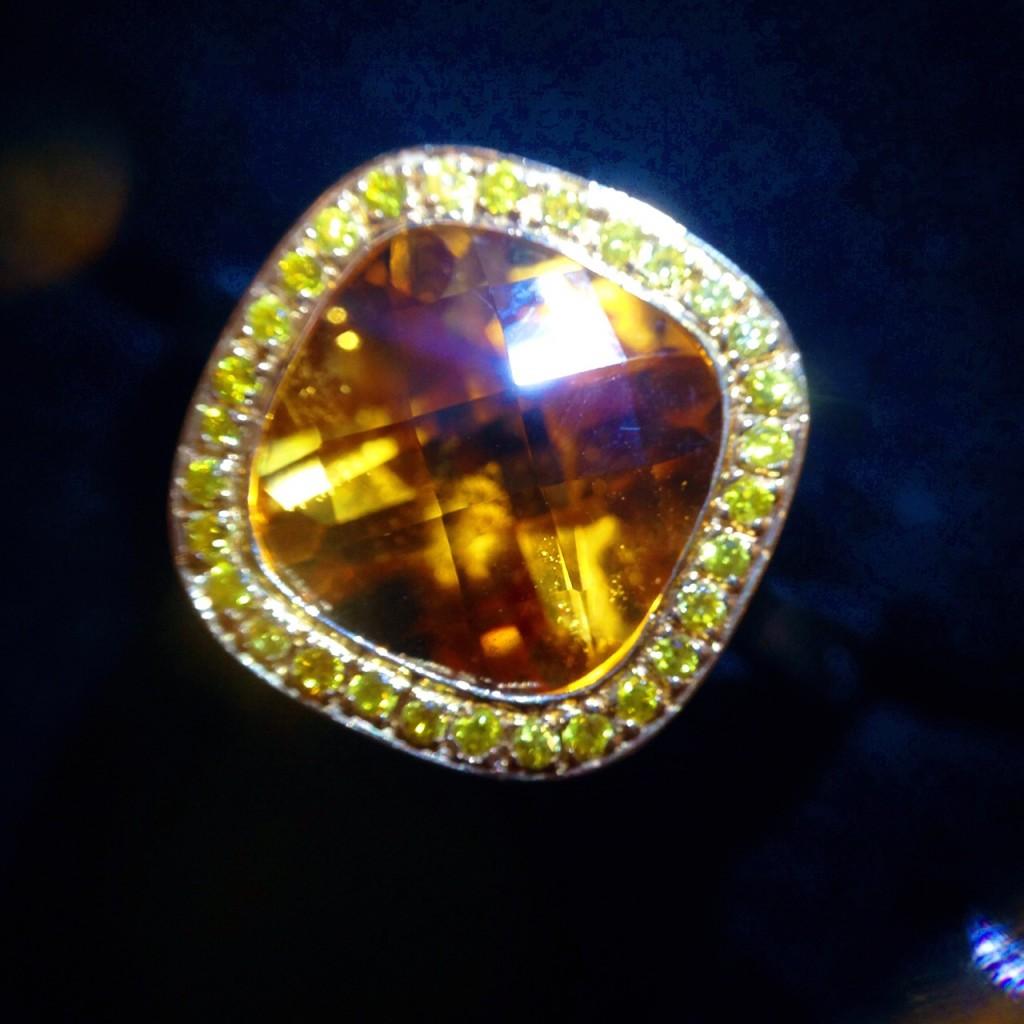 Casey Citrine Engagement Ring