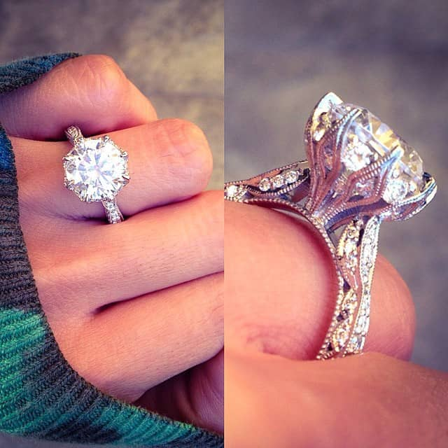 Engagement Rings Tacori: Most Popular Tacori Rings On Instagram