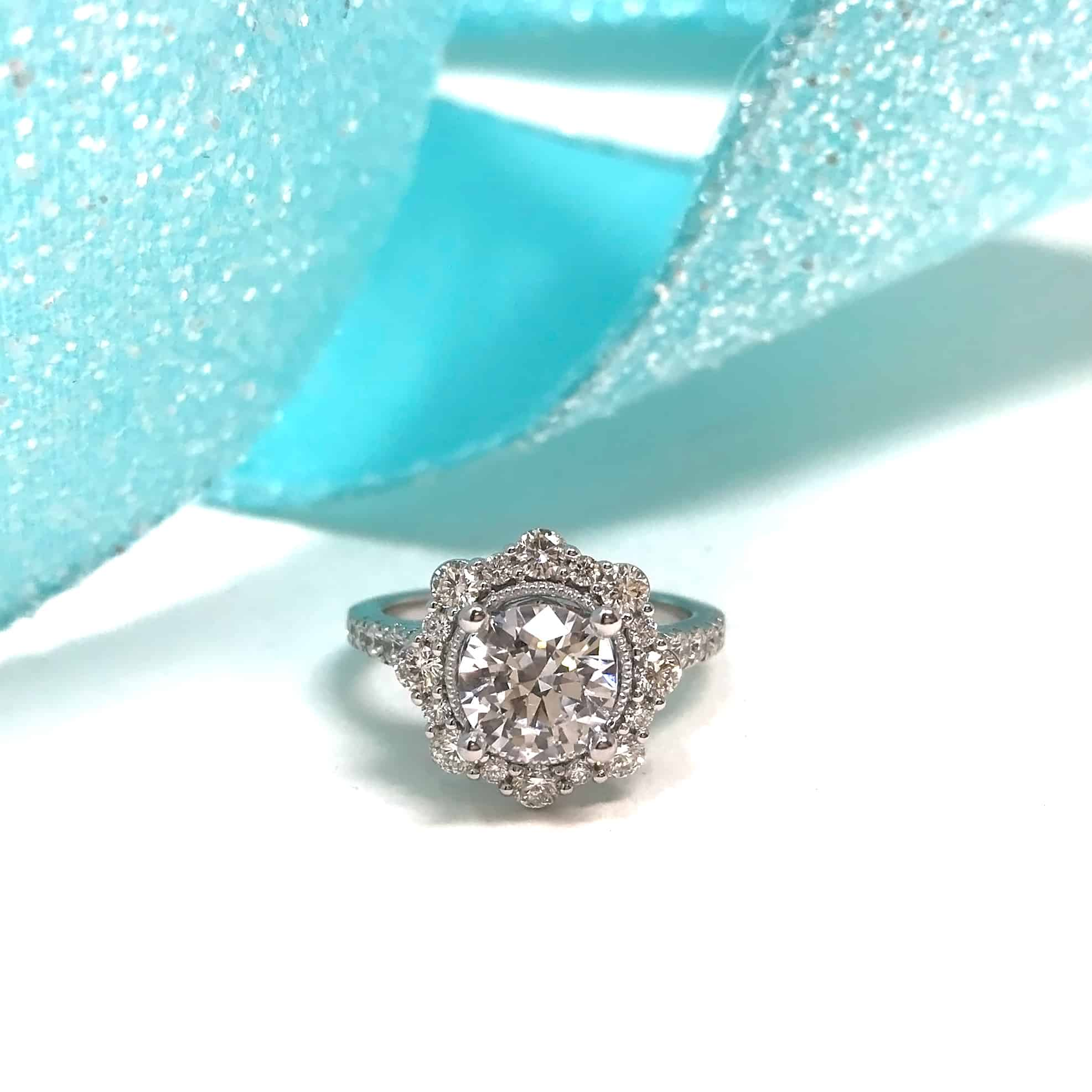 New Twist To The Diamond Halo Ring - Robbins Brothers Blog
